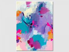 Buy the abstract painting online. Modern abstract painting, acrylic colors on canvas board.This painting is handmade, original artwork. Colorful Abstract Art, Colorful Wall Art, Abstract Wall Art, Small Paintings, Original Paintings, Art Paintings, Artwork, Modern, Canvas Board