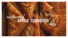 July 5th is National Apple Turnover Day