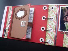 journaling pocket in minialbum