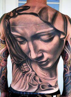 Tattoo Artist - Nikko Hurtado - religious tattoo