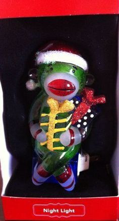 Sock Monkey Nightlight #StNicholasSquare