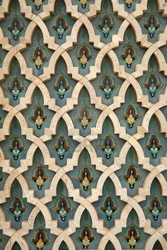 Moroccan Tiles floral #FlowerShop