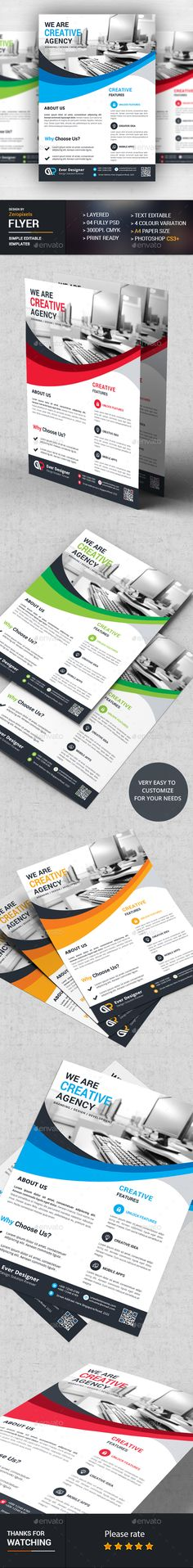 Flyer Template PSD. Download here: https://graphicriver.net/item/flyer/17283644?ref=ksioks