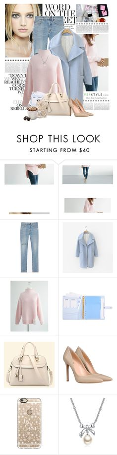 """""""YesStyle Group: Show us your YesStyle"""" by yexyka ❤ liked on Polyvore featuring Chanel, Yves Saint Laurent, Cherrykoko, BeiBaoBao, 8, Casetify, Tassimo, MBLife.com, Christmas and yesstyle"""