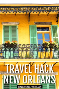 How to Travel Hack New Orleans Travel Essentials, Travel Tips, Travelling Tips, Travel Hacks, Budget Travel, Travel Ideas, Canada Travel, Travel Usa, Amazing Destinations