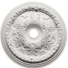 Focal Point 88528 28-Inch Emma Heritage Medallion 28-Inch by 28-Inch by 2 3/4-Inch, Primed White *** You can get additional details at the image link. (This is an affiliate link) #HomeDecoration