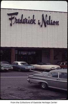 Frederick n Nelson store in downtown Seattle.