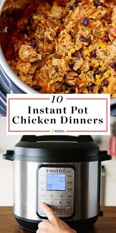 Instant Pot Chicken Recipes - Easy Chicken Ideas | Kitchn