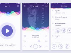 Wave Music App by Eldin