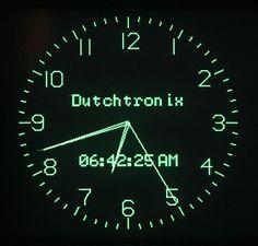 AVR Scope Clock H3.1