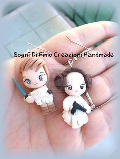 Princess Leila and Luke Skywolker by SogniDiFimoCReazioni.deviantart.com on @deviantART