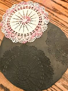 Remove doily from cl