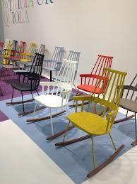 Scandinavische schommelstoel