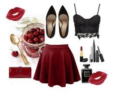 """Bez naslova #7"" by daiiisyy ❤ liked on Polyvore featuring moda, LE3NO, HOBO e Chanel"