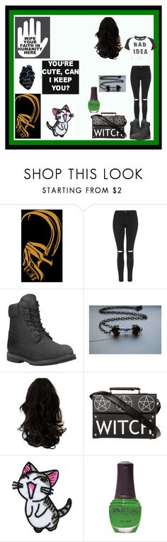 """Emotions don't help"" by thin-mint on Polyvore featuring Topshop, Timberland, Lazy Oaf, Converse, Love Quotes Scarves and SpaRitual"