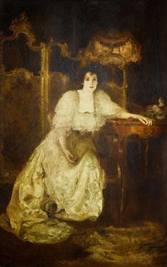 Solomon J. Solomon | Portrait of Mrs Patrick Campbell as Pau… | Flickr - Photo Sharing!