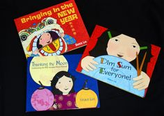 """Multicultural children's books for CHINESE NEW YEAR: """"Bringing in the New Year"""" and """"Dim Sum for Everyone"""""""