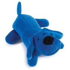 """Zanies Neon Lil' Yelpers Dog Toy  Dogs will yip, they'll yap, they'll jump for joy when Zanies® Neon Lil' Yelpers are around.    •                5"""" long plush dog toy with squeaker.    •                Bright Blue colored dog-shaped toy.    Why We Love It:    Every Lil' Yelper needs his own Lil' Yelper Dog Toy. What a cute little plush dog toy for your pup to enjoy for hours on end! Stuffed soft plush body, with squeaker inside."""