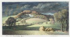 Storm over Polehill. Stanley Roy Badminton First Known When Lost: June 2013