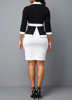 women dresses, tight dress online, with competitive price Black Dress Coat, Black Dress Outfits, Casual Dresses, Midi Dresses, African Fashion Skirts, Women's Fashion Dresses, Black Dress Accessories, Smart Casual Women, Beautiful Black Dresses