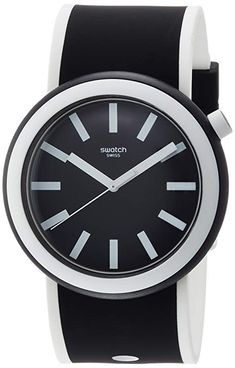 Swatch New POP Poplooking Black Dial Silicone Strap Unisex Watch PNB100  Swatch watch  swatchwatch  . Karkötő ÓraKarkötők a36b5faacd