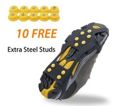 0bf36bb6ede7 You should not worry about the quality of the above-listed best ice  traction cleats as they are highly durable.