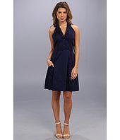 Jessica Simpson Notch Lapel Halter Shirt Dress Price