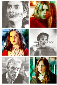 First and last faces he sees. #doctorwho #thetimeofthedoctor