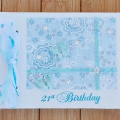 21st Birthday Guest Book by Orchard Bliss