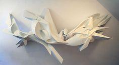 Graffiti sculpture: Twister, m, PVC, 2009 Graffiti Writing, Graffiti Art, Graffiti Wallpaper, Contemporary Sculpture, Ap Art, All Paper, Three Dimensional, 3 D, Sculptures