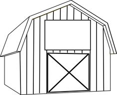 free barn clip art black and white Yahoo Image Search Results Clip art Barn quilt patterns Black and white cartoon
