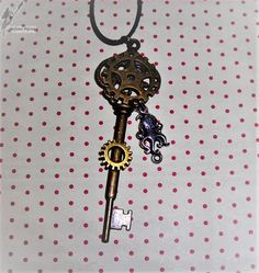 10€ Steampunk, Belly Button Rings, Creations, Enamel, Accessories, Jewelry, Art Crafts, Pendant Necklace, Jewerly