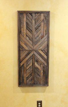 Items similar to Reclaimed Wood Wall Art, Wall Decor or Twin Headboard, Geometric on Etsy Reclaimed Wood Wall Art, Wood Wall Decor, Salvaged Wood, Wooden Wall Art, Diy Wall Art, Barn Wood, Diy Wood, Wood Artwork, Wood Wood