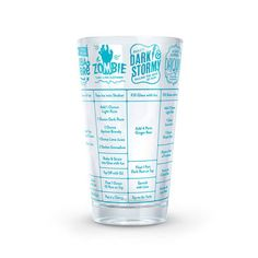 These 16 ounce measuring glasses are printed with seven delectable cocktail recipes that are sure to turn you into the most-exacting mixologist. Recipe Cup, Rum Recipes, Cocktail Recipes, Cocktails, Tequila, Vodka, Bar Gifts, Cocktail Glass, Cocktail