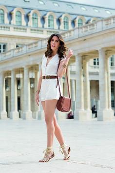 Macaquinho branco Camila Coutinho para Riachuelo | summer essentials collection white jumpsuit