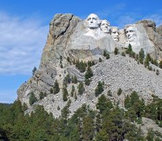 Visit Mount Rushmore But don't complain that it's smaller than you expected. It's still fantastic. Before you gaze at these stone-faced presidents, though, stop at Murphy's Pub for fried pickles and a Bloody Mary. Then drive through the Black Hills National Forest.