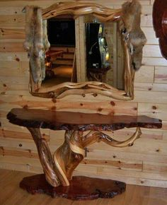 unique rustic furniture. Love This Unique Rustic Furniture R