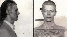 David Bowie arrested, Rochester, NY, in 1976 for Marijuana possession.