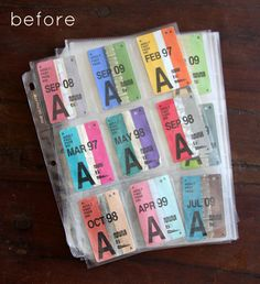 I wish we had this beautiful bustickets worthy of this Diy from designsponge
