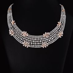 It has actually been said that of all the pieces of fashion jewelry on the planet, a pearl necklace is the only thing that a female need to not lack. Diamond Tennis Necklace, Diamond Pendant Necklace, Diamond Bracelets, Diamond Jewelry, Diamond Earrings, Dimond Necklace, Diamond Necklace Simple, Diamond Mangalsutra, Lotus Jewelry