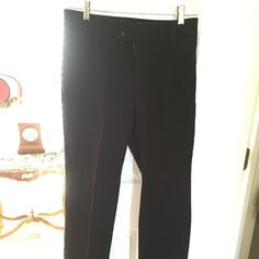 "Black pants Black pants. 32"" inseam Instantly slims you Pants Trousers"