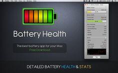 @fiblab Detailed Battery Health Stats #App for #Mac