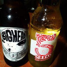 Beer n cider :)