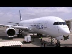 Airbus A350 First Engine Start