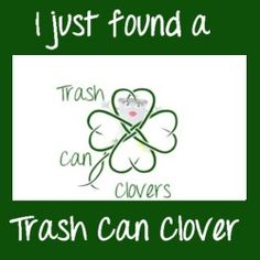 Report the link you found the clover on:   http://trashcanbloggers.com/i-found-a-trash-can-clover