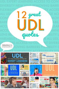 Love UDL quotes? Here are 12 to pin, tweet, and share!
