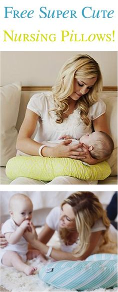 FREE Super Cute Nursing Pillows! {just pay s/h} ~ these make great Baby Shower Gifts, too!