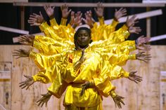 Students from Malawi perform a kung-fu dance in Hong Kong.