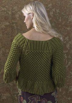 Craft Pin- Free Turpan Cardigan Knitting Pattern  #craftpin #knitting #pattern #free