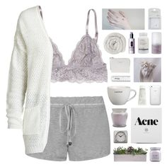 """""""i get caught up in your heartstrings"""" by hhuricane ❤ liked on Polyvore featuring Juicy Couture, ONLY, Topshop, Murad, Acne Studios, Clinique, Laura Mercier, Smashbox, Infinity Instruments and melsunicorns"""